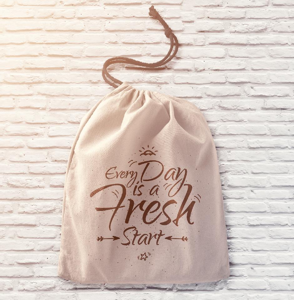 Drawstring pouch bag